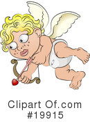 Cupid Clipart #19915 by AtStockIllustration
