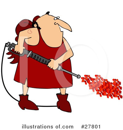 Royalty-Free (RF) Cupid Clipart Illustration by djart - Stock Sample #27801