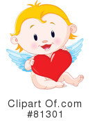 Royalty-Free (RF) cupid Clipart Illustration #81301