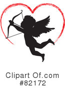 Royalty-Free (RF) Cupid Clipart Illustration #82172