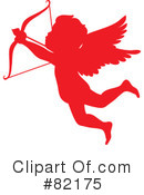Royalty-Free (RF) Cupid Clipart Illustration #82175