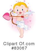 Royalty-Free (RF) Cupid Clipart Illustration #83067