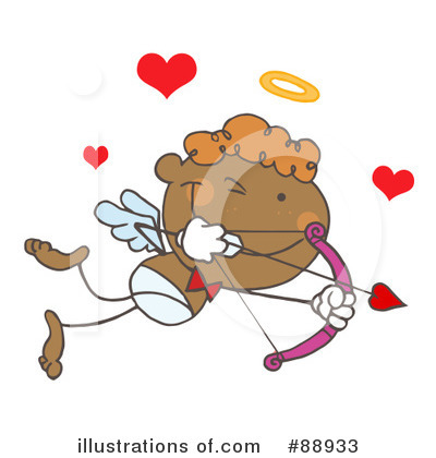 Royalty-Free (RF) Cupid Clipart Illustration by Hit Toon - Stock Sample #88933
