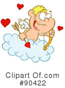 Royalty-Free (RF) Cupid Clipart Illustration #90422