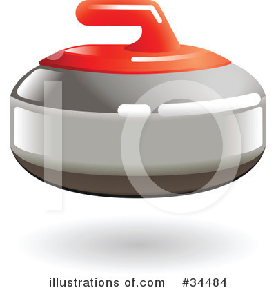 Curling Clipart #34484 by AtStockIllustration