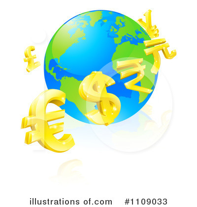 Globe Clipart #1109033 by AtStockIllustration
