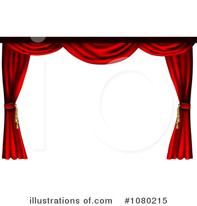Curtains Clipart #1080215 by AtStockIllustration