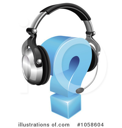 Headset Clipart #1058604 by AtStockIllustration