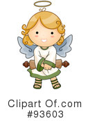 Cute Angel Clipart #93603