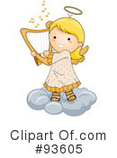 Cute Angel Clipart #93605
