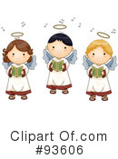 Cute Angel Clipart #93606