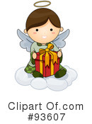 Cute Angel Clipart #93607