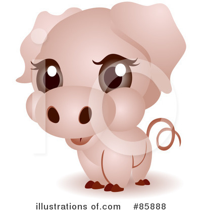 Pig Clipart #85888 by BNP Design Studio