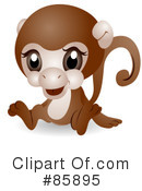 Royalty-Free (RF) Cute Animal Clipart Illustration #85895