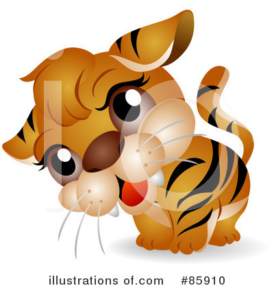 Tiger Clipart #85910 by BNP Design Studio