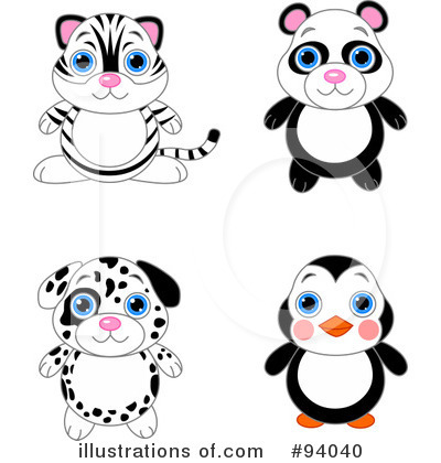 White Tiger Clipart #94040 by Pushkin