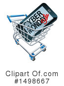 Cyber Monday Clipart #1498667 by AtStockIllustration