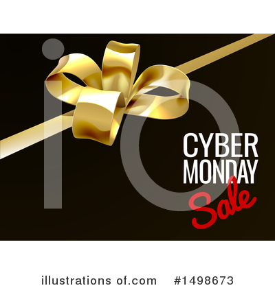 Cyber Monday Clipart #1498673 by AtStockIllustration
