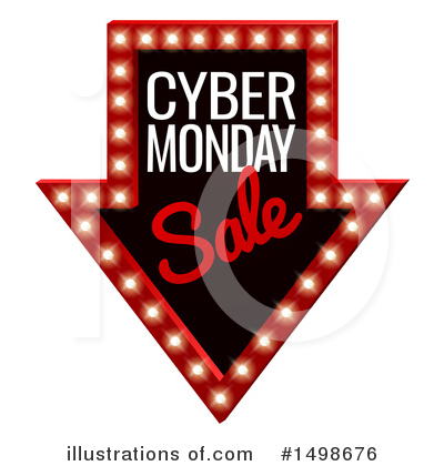 Cyber Monday Clipart #1498676 by AtStockIllustration