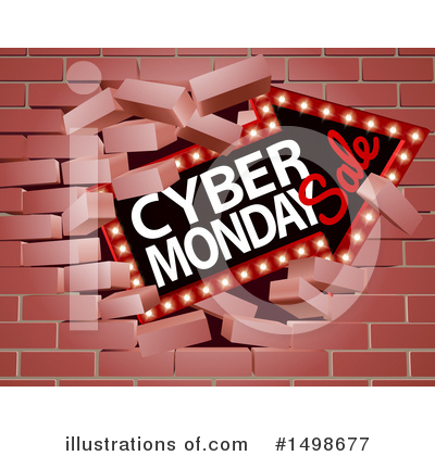 Cyber Monday Clipart #1498677 by AtStockIllustration