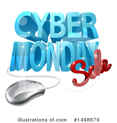 Cyber Monday Clipart #1498679 by AtStockIllustration