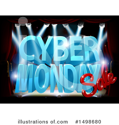 Cyber Monday Clipart #1498680 by AtStockIllustration