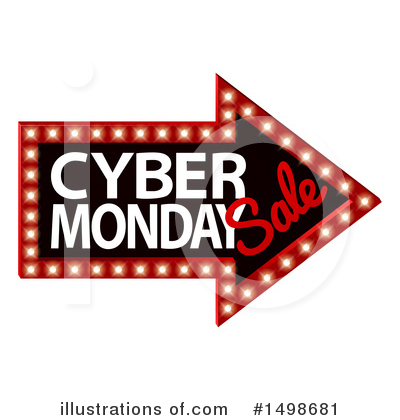 Cyber Monday Clipart #1498681 by AtStockIllustration