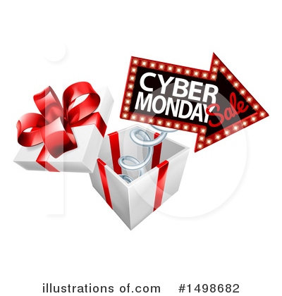 Cyber Monday Clipart #1498682 by AtStockIllustration