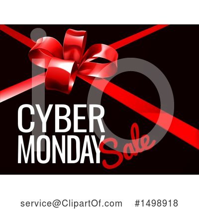 Cyber Monday Clipart #1498918 by AtStockIllustration