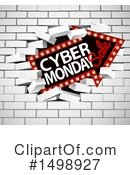Cyber Monday Clipart #1498927 by AtStockIllustration