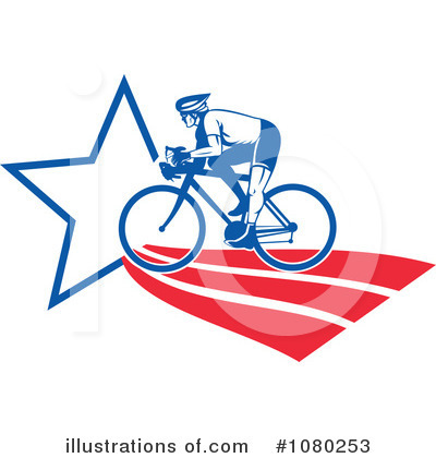 Cyclist Clipart #1080253 by patrimonio