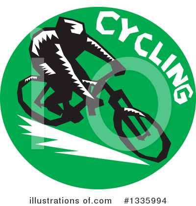 Cyclist Clipart #1335994 by patrimonio