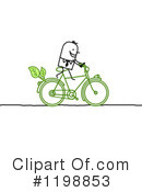 Cyclist Clipart #1198853 by NL shop