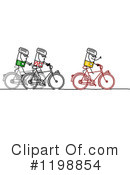 Cyclist Clipart #1198854 by NL shop