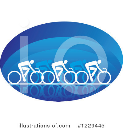 Spin Bike Clipart #1229445 by Vector Tradition SM