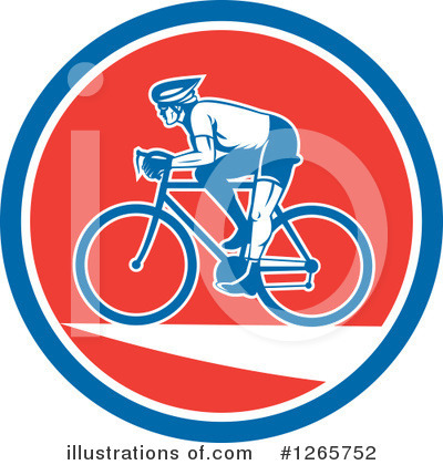 Cyclist Clipart #1265752 by patrimonio