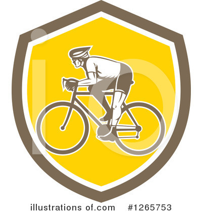 Cyclist Clipart #1265753 by patrimonio