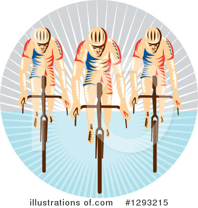 Cyclist Clipart #1293215 by patrimonio