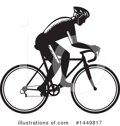 Bicycle Clipart #1449817 by patrimonio