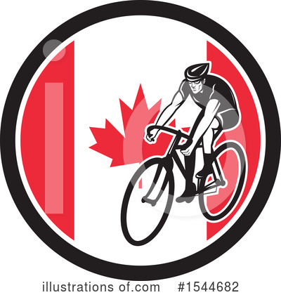 Cyclist Clipart #1544682 by patrimonio