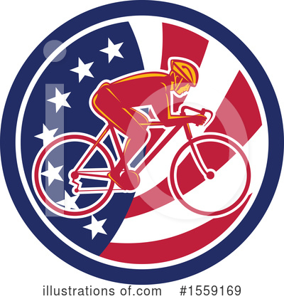 Cyclist Clipart #1559169 by patrimonio