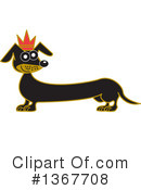 Dachshund Clipart #1367708 by Andy Nortnik