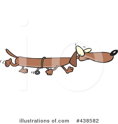 Dachshund Clipart #438582 by toonaday