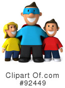 Royalty-Free (RF) Dad Clipart Illustration #92449