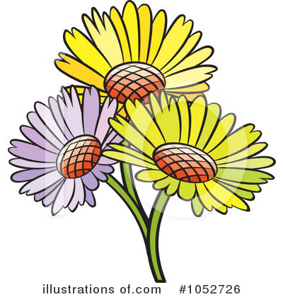 Flower Clipart #1052726 by Lal Perera