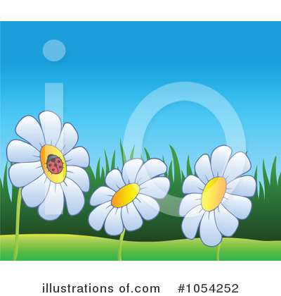 Daisy Clipart #1054252 by visekart