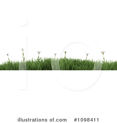 Daisies Clipart #1098411 by KJ Pargeter