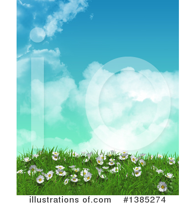 Daisies Clipart #1385274 by KJ Pargeter