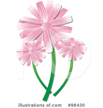 Flowers Clipart #98430 by Pams Clipart