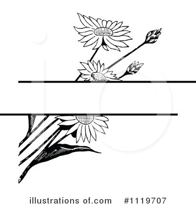 Flowers Clipart #1119707 by Prawny Vintage